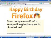 Firefox wishes in italian