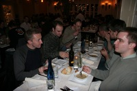 A Group of Mozillians Sharing a Meal