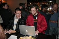 Mozilla Employees at a Social Event