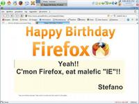 Happy Birthday great Firefox!!