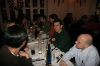 Mozillians Sharing a Meal