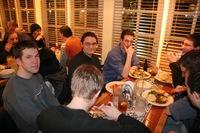 Mozillians Sharing Dinner