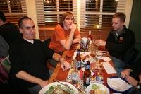 Mozillians Eating Dinner