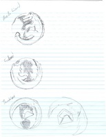 Concept Sketches of Firefox Icon