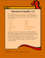The Mozilla 1.0 Start Page